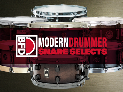 FXpansion - BFD Modern Drummer Snare Selects