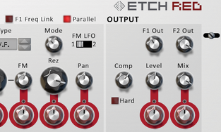 FXpansion - Etch Red